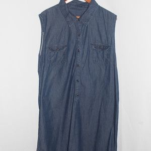 ]LEE} Modern Series Denim Dress Size 18